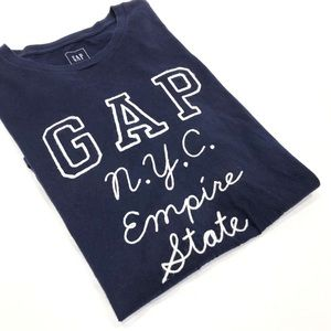 GAP NYC Empire State Embroidered T-shirt